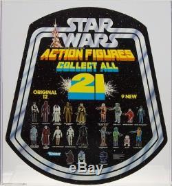 Star Wars 1979 Vintage Kenner Récupérer Tous Les 21 Bell Display Afa 90