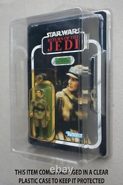 Star Wars 1983 Kenner Moc Minty Rotj Vintage Leia Combat Poncho Endor