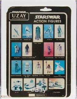 Star Wars 1988 Sb Produits Vintage Uzay R5-d4 Moc Afa Q-30