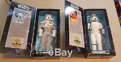 Star Wars 1997 Vintage 12 '' Pouces Collector Series Lot De 24