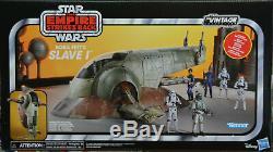 Star Wars 2020 La Collection Vintage 3.75 Échelle Boba Fett Slave 1 En Stock