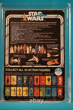Star Wars Afa 75 Luke Skywalker 12 Retour C 32 Retour Stic Vintage Moc Cardée