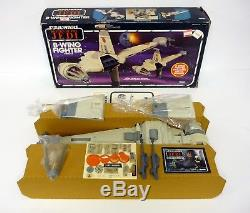 Star Wars B-wing Fighter Figurine D'action Vintage Véhicule Rotj Mib / Complete 1983