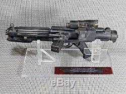 Star Wars, Blaster E-11 Anh, Ensemble Précis, Métal, Soudé, Pièces Vintage Smg Mk4