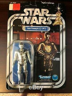 Star Wars C-3po 12 Retour A 1978 Vintage Kenner Moc
