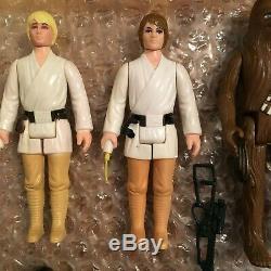 Star Wars Cas Vintage Kenner Darth Vader Promotion Rempli De Chiffres