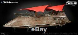 Star Wars - Collection Vintage - Barge À Voile (khetanna) Haslab Jabba Neu & Ovp