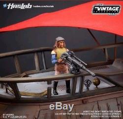Star Wars Collection Vintage Haslab, Barge À Voile De Jabba Avecyakface Pré-commande + Livre
