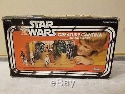Star Wars Creature Cantina Ensemble De Jeu Complet Avec Boîte Original 1979 Vintage