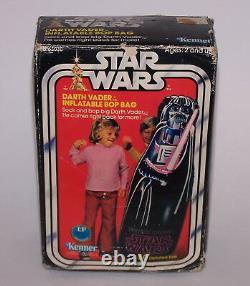 Star Wars Darth Vader 50 Gonflable Bop Bag Kenner 1978 Vintage Nib