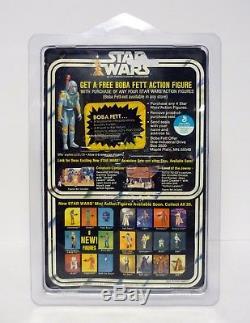 Star Wars Darth Vader Figurine Vintage Boba Fett 20 Retour Moc / Complete 1978