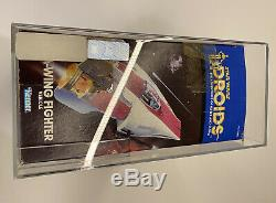 Star Wars Droids 1985 Vintage A Wing Fighter Afa Nm 85 Octodecies