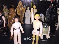 Star Wars Early Bird Ensemble De Chiffres Sur Le Support D'origine Vintage Weapons 1977