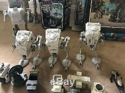 Star Wars Emploi Lot Vintage Figures Imperial Stormtrooper A-a Boxed Darth Vader