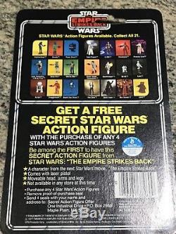 Star Wars Esb Han Solo 21-retour Vintage Moc Mint Forme Carte Rare Kenner 1980