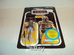 Star Wars Esb Vintage Boba Fett 41 Retour Rotj Canadienne De Transition Canada Moc Rare