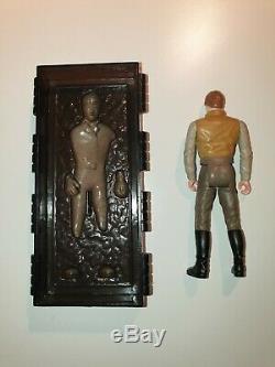 Star Wars Figurine Vintage Han Solo En Carbonite Rare Dernière 17