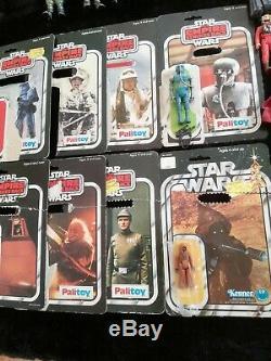 Star Wars Figurines Vintage 121 Travail Beaucoup Plus Extras