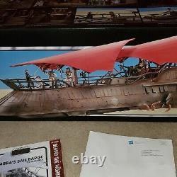 Star Wars Hasbro The Vintage Collection Jabbas Sail Barge, Avec Boîte D'expédition