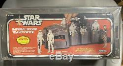 Star Wars Imperial Troop Transporter Afa 70 Q Vintage Kenner Decal Scellé À L'intérieur