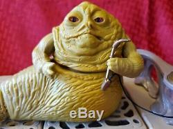 Star Wars Jabba Playset Boba Fett Bib Fortuna Max Rebo Band Lot Vintage