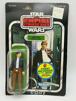 Star Wars Kenner Vintage 1982 48 Retour Esb Han Solo Bespin Empire Strikes Moc