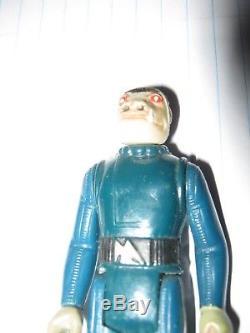 Star Wars Kenner Vintage Bleu Snaggletooth Figure Dent Sears Cantina 1978