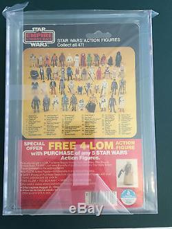 Star Wars Kenner Vintage Empire Contre-attaque Boba Fett 47 Retour Afa 75 1980 Esb