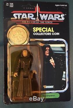 Star Wars Kenner Vintage L'empereur Unpunched Moc Potf 1985 Dernier 17