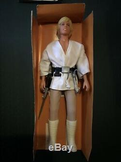 Star Wars Kenner Vintage Luke Skywalker 1979 12 Grande Poupée / Figure Withbox