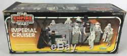 Star Wars L'empire Contre-arrière Le Cruiser Impérial Vintage, Kenner, En Boîte, 1980