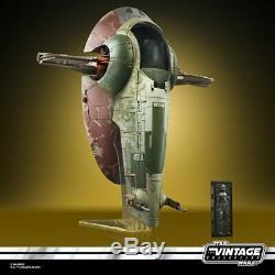Star Wars La Collection Vintage Boba Fett Esclave De 1 Navire Pré-commande