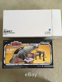 Star Wars La Collection Vintage Slave 1 Amazon Exclusive Nouveauté Dans La Boîte Withshipper
