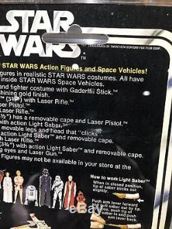 Star Wars Luke Skywalker 12 Retour-a Vintage Moc Kenner Très Bon État Original