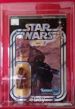 Star Wars Millésime 1977 Kenner Moc 12 Retour A Vinyl Cap Jawa Afa 80% Non Perforé