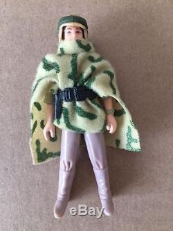Star Wars Millésime LILI Ledy Leia Combat Poncho Factory Erreur Overstock Unpainted