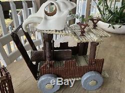Star Wars Original Vintage Ewok Bataille Wagon