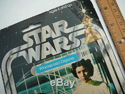 Star Wars Palitoy 12 Retour Princesse Leia Moc 1978 Kenner Gmfgi Vintage Original
