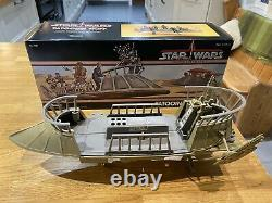 Star Wars Power Of The Force Vintage Tatooine Skiff Avec Box Excellent