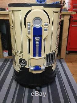 Star Wars R2d2 Grandeur Nature 4ft Pepsi Boissons Panaché 90 Vintage Etat D'usage
