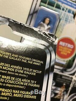 Star Wars Retro Collection Case 6pcs Vintage Tvc Avec Hasbro Box Target Exclusive
