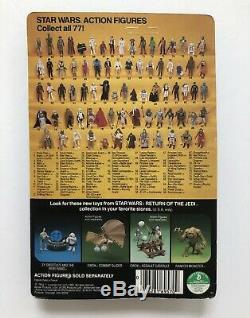 Star Wars Rotj 1983 Boba Fett 77 Retour Vtg Kenner Unpunched Moc
