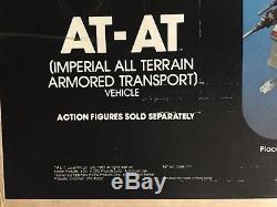 Star Wars Rotj At-chez Véhicule Misb Vintage Mib Jedi Imperial Terrain 1983
