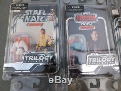 Star Wars Saga La Collection Original Trilogie Vintage 11 Figures Moc