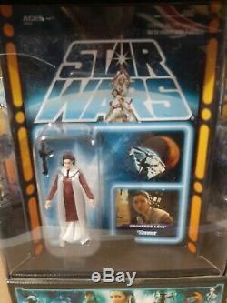 Star Wars Sdcc 2012 7 Pack Avec Jar Jar Binks Carbonite Mib Moc Nrfb Vintage Coll