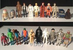 Star Wars Un Nouvel Espoir Vintage Premier 21 Figurines