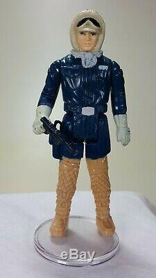 Star Wars Variante Vintage Han Solo Hoth Jambes Moulées
