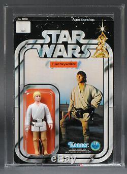 Star Wars Vintage 12 Back-a Luke Skywalker Sku Afa 85 (80/85/85) Unpunched Moc