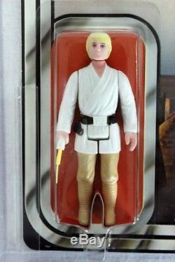 Star Wars Vintage 12 Retour-b Luke Skywalker Afa 85 Nm + # 17599273