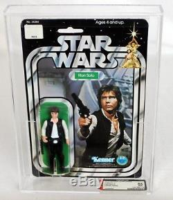 Star Wars Vintage 12 Retour-c Han Solo (grande Tête) Afa 85 Nm + # 12969880